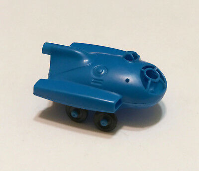 R&L CEREAL TOY ~ SPACE AGE 1969 ~MOON BUGGY ~ BLUE, no AERIAL ~ RARE KELLOGGS