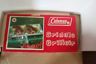 Coleman Canada Stove Griddle With Box