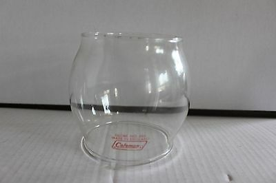 Coleman 200 242 Red Letter 550 Made In England Lantern Globe