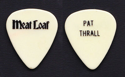 Meat Loaf Pat Thrall White Guitar Pick - 1990s Tours