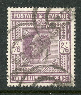 Great Britain 1902-11 2/6 Used #139