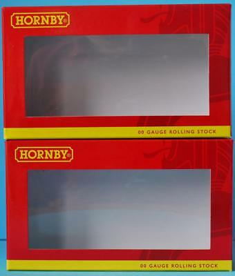 2x EMPTY HORNBY WAGON BOXES BRAND NEW WAGON BOX SPARES TWO WAGON BOXES