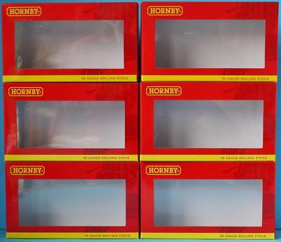 6x EMPTY HORNBY WAGON BOXES BRAND NEW WAGON BOX SPARES SIX WAGON BOXES