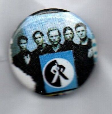 BOYZONE BUTTON BADGE 90s BOYBAND KEY TO MY LIFE, WHERE WE BELONG - 25mm PIN