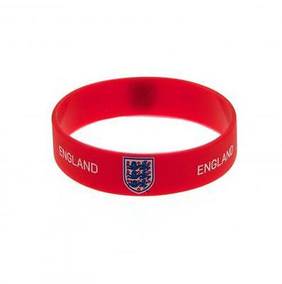 England FA Silicone Wristband Red Crest New Official Licensed Football Product