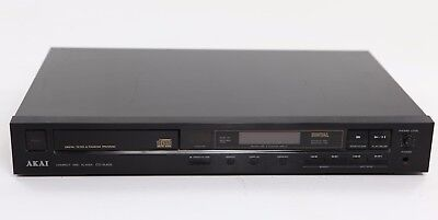 Vintage 1987 AKAI Electric Compact Disc CD Player CD-A405 12W, Made in Japan