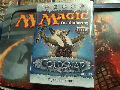 BEYOND THE GRAVE Coldsnap NEW Deck mtg FREE Shipping Canada!
