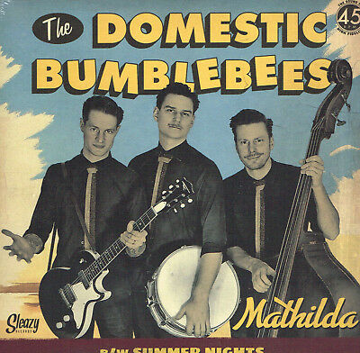THE DOMESTIC BUMBLEBEES - MATHILDA / SUMMER NIGHTS (New 2017 ROCKABILLY JIVER)