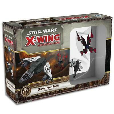 Star Wars X-Wing Miniatures Game Guns For Hire Expansion Pack Board Game
