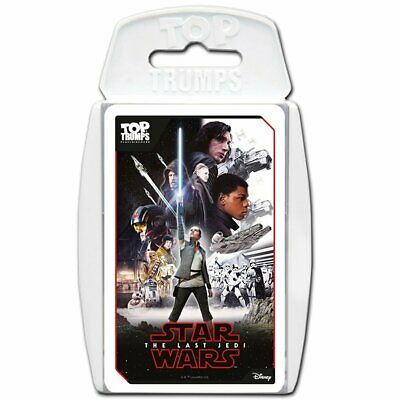 Star Wars The Last Jedi Top Trumps Education Game Card Game