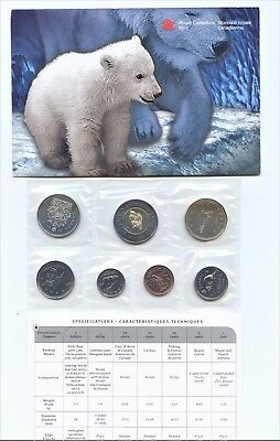 Canada 2000 Uncirculatet 7 Coin Set  Special Edition Royal Canadian Mint