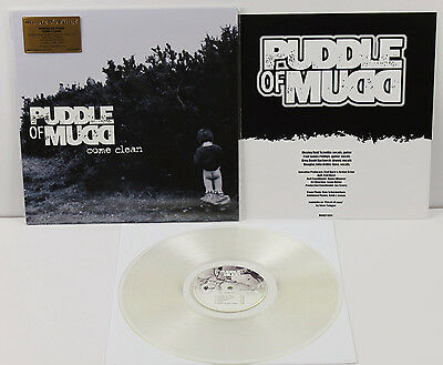 PUDDLE OF MUDD Come Clean LP CLEAR Eur 2017 Music On Vinyl  Mint/New