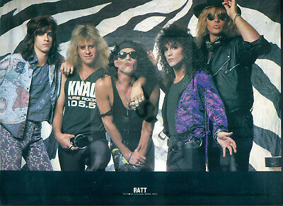 Ratt / Stephen Pearcy - Clippings From Japanese Magazine Popgear