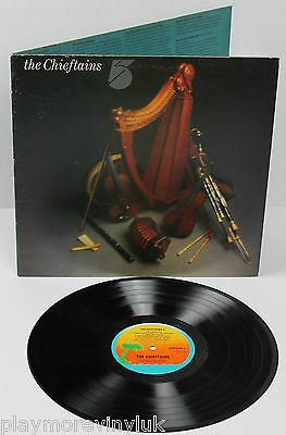 THE CHIEFTAINS '5' LP UK A3/B3 1975 Island ILPS9334