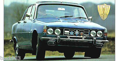 ROVER P6 / P-6 3500 SPEC SHEET / Brochure: 1969,1970,1971,