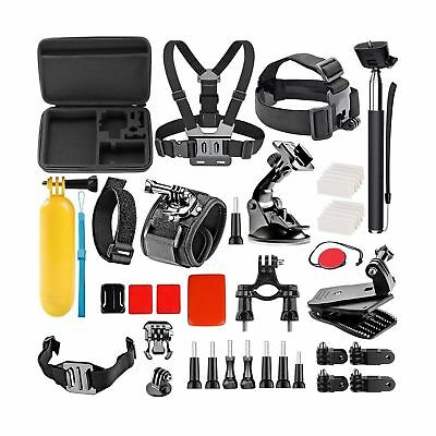 Wifi Action Camera Accessories Kit for Akaso EK7000/ Gopro Hero 5 4 3 2 1/ Fi...