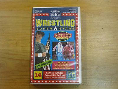 WCCW Wrestling Battle Royal VHS-Kassette Nummer 14