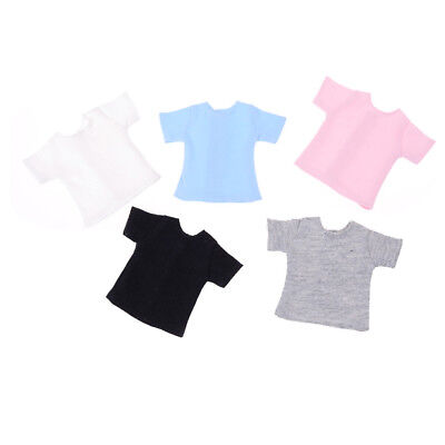 Pretty Doll T-Shirt for Blyth, Barbies, Momoko, Azone Doll Clothes Accessory QW