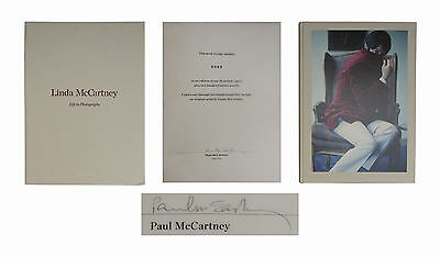 Paul McCartney Signed Life in Photographs Taschen Book