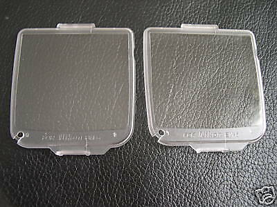 New 2 x LCD Covers for Nikon D200 BM6, BM-6 BM 6