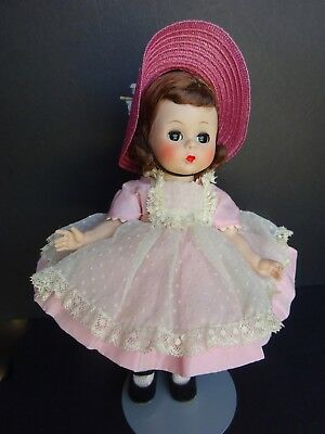 Vintage Madame Alexander Kins SLW  Pink Pinafore Wendy Adores A Party ??