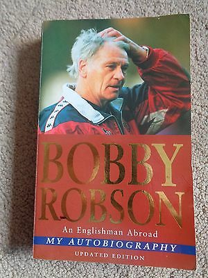 Bobby Robson SIGNED Book - Newcastle Football Legend