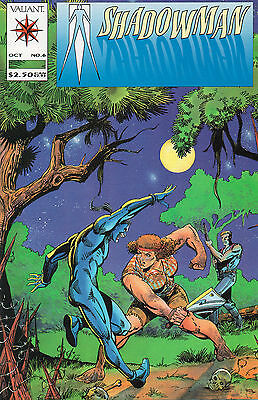 Shadowman Lot Of 7 - Valiant Comics Steve Ditko - 1992 (High Grade)