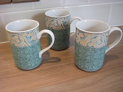 BHS VALENCIA COFFEE MUGS x 3 British Home Stores Very good condition.