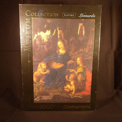 Virgin of the Rocks Puzzle Leonardo Museum Collection 1000 pc. Clementoni Sealed