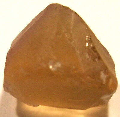 20.85 Carats, Internally Flawless Champagne Citrine Facet Rough From Bolivia