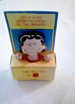 Vintage Peanuts LUCY - The Doctor Is In Soft Doll - in Mood Booth by Applause