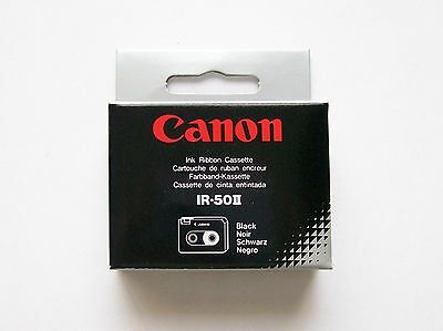 (Brand New) Pack of 2 Canon IR-50II Ink Ribbon Cassettes