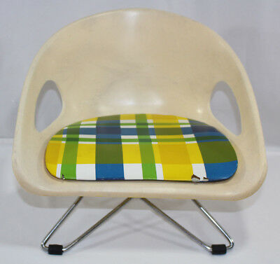 Vintage Mid Century Cosco Toddler Child's Booster Seat Chair, 2 levels