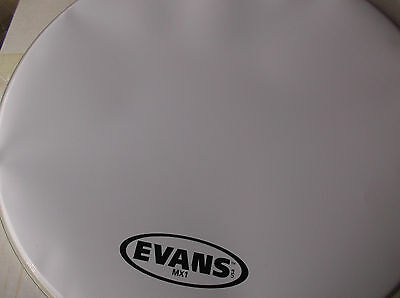 "EVANS 28"" MX1  White Bass Head"