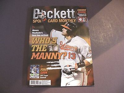 Beckett Sports Card Monthly - October 2016 #379 - Manny Machado Cover