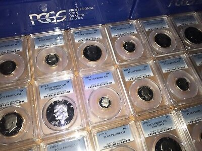 Estate Sale Us Graded Coins ▶Pcgs Ngc◀ 2 Slab Lot/silver Gold >6 / 10 Years+ Old