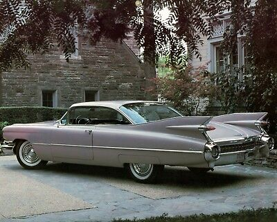 1960 Cadillac Coupe De Ville  8X10 Reproduction Photo