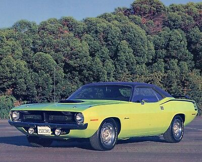 1970 Plymouth Barracuda 440 8X10 Reproduction Photo
