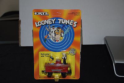 ERTL Looney Tunes - Sylvester and Tweety Bird - Mint on Card - 1989 - NEW