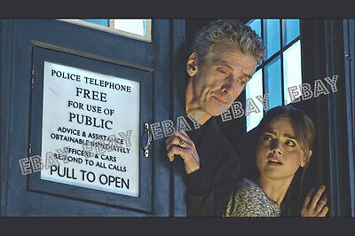 147 Doctor Dr Who Peter Capaldi Jenna Coleman Photo Print