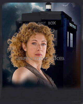 144 Doctor Dr Who Photo River Song Alex Kingston Print