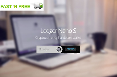 Ledger Nano S - Cryptocurrency hardware wallet *IN STOCK*