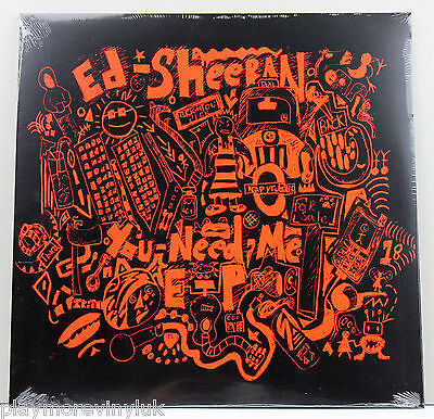 "ED SHEERAN You Need Me EP 12"" vinyl RSD 2016  Mint/Sealed!"