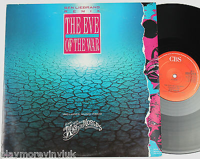 "JEFF WAYNE The Eve Of The War BEN LIEBRAND mix 12"" UK 1989 CBS 6551266 plays NM!"