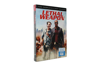 Lethai Weapon The Complete First Season (1) ( DVD, 2017 , 4 -Disc Set )