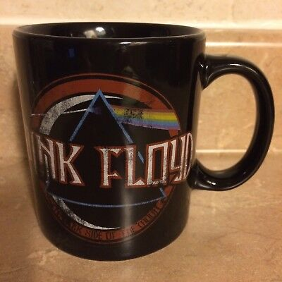 Licensed PINK FLOYD Coffee Mug 2011 Pink Floyd (1987) Ltd.  Black