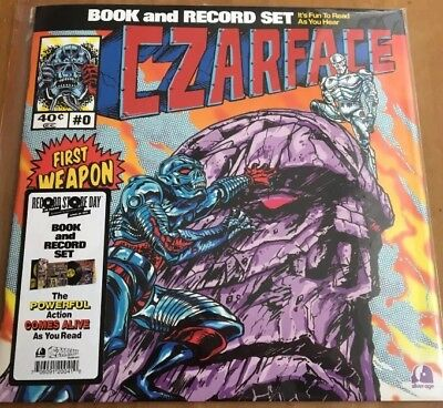 CZARFACE First Weapon Drawn VINYL LP RSD 2017 RARE
