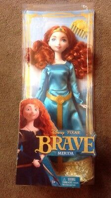 Bnib Disney Merida (Brave) Made By Mattel 3+