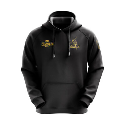 Melbourne Storm NRL 2017 Premiers Black & Gold Hoody S-3XL! In Stock