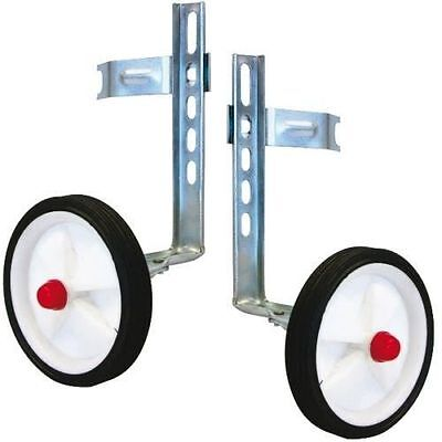 """Universal Easy Fit Stabilisers/ Balance Wheels Childs Bike With 12""""-20'' Wheels"""